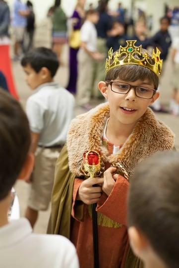 4th grade Medieval Faire